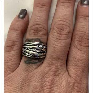 Silpada 'Organics' Ring Size 7, R2035